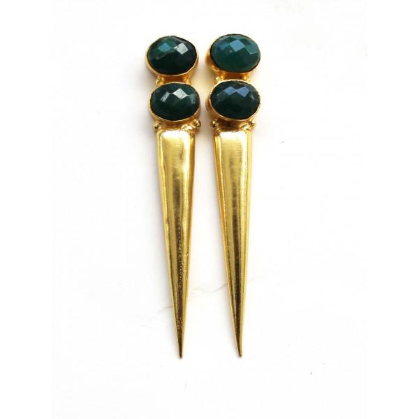 Gharaz by Vishaka Spiky fix earrings