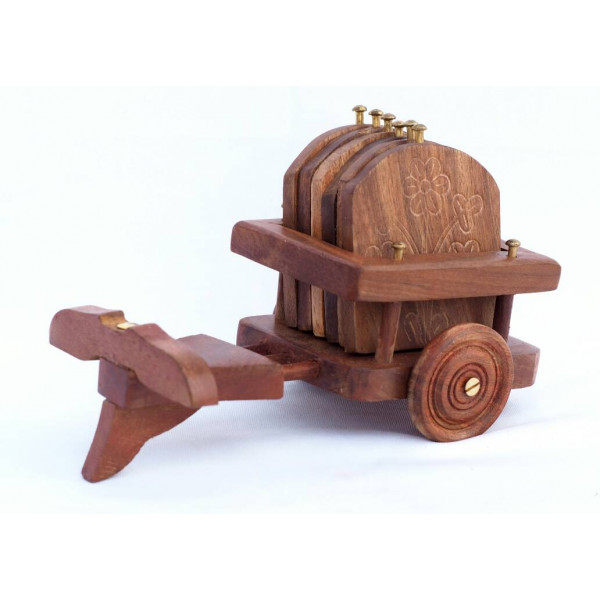 Anam Craft Coaster Set with Holder