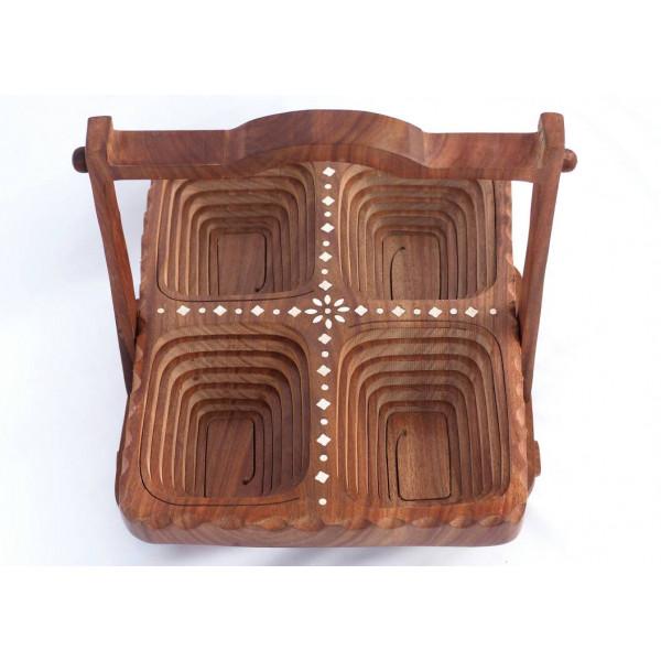 Anam Craft Folding dry fruit tray