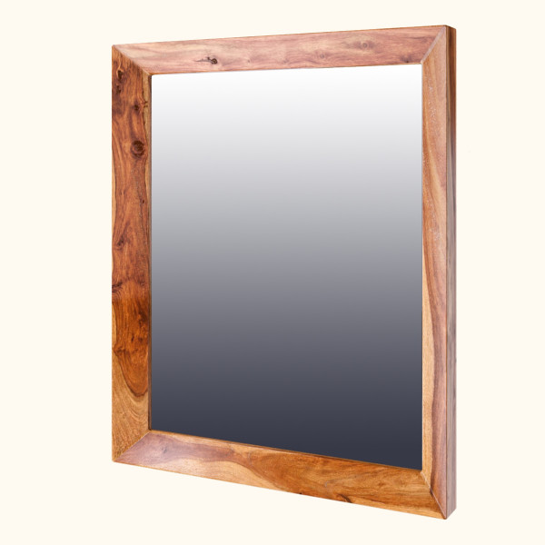 Marisol Wall Mirror with Sheesham Wood Frame 29 x 39 inches