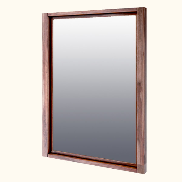 Scarlett Wall Mirror with Sheesham Wood Frame 40 x 45 inches