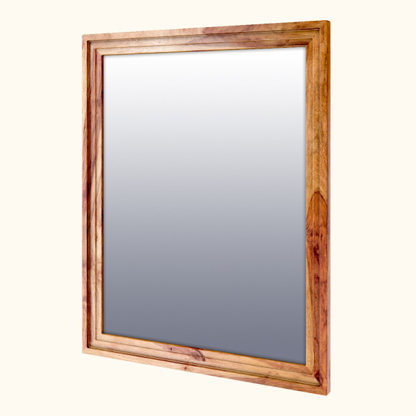 Porter Sheesham wood Wall Mirror 28 x 36 inches (Frame only)
