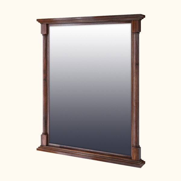 West Street Sheesham Wood Mirror Frame 36 x 40 inches