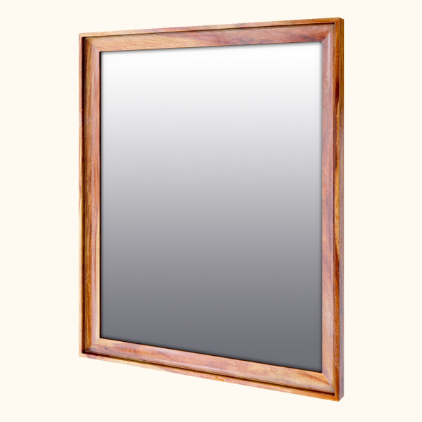 Prague Sheesham Wood Mirror 36inches
