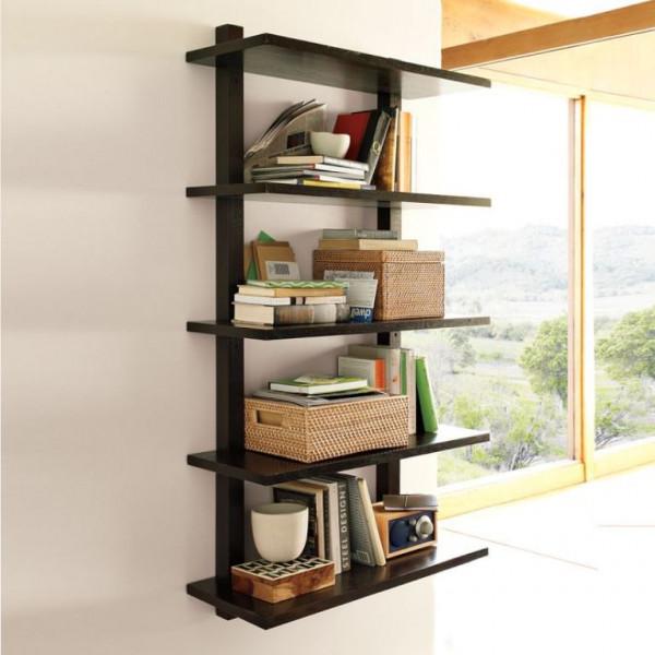 FabFull Milan 5 Tier wall shelf