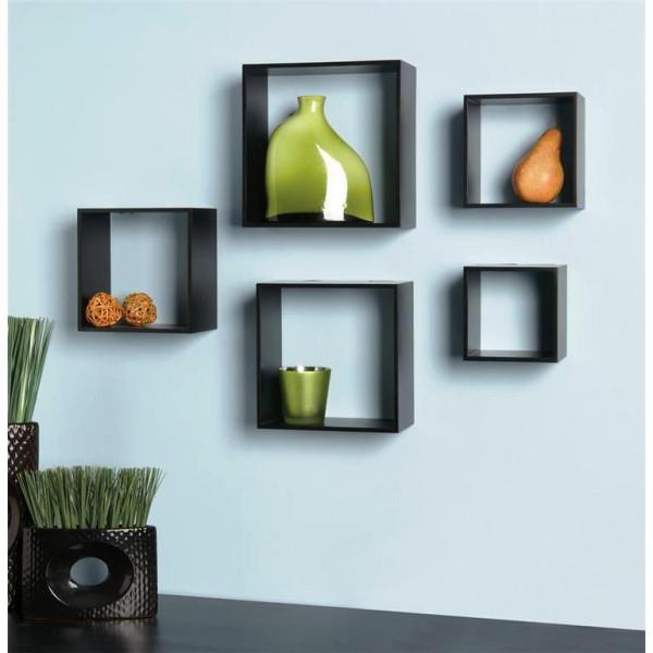FabFull Boxo Set of 5 wall Shelf