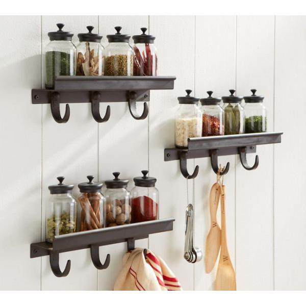 FabFull Porto Kitchen Rack with Hooks