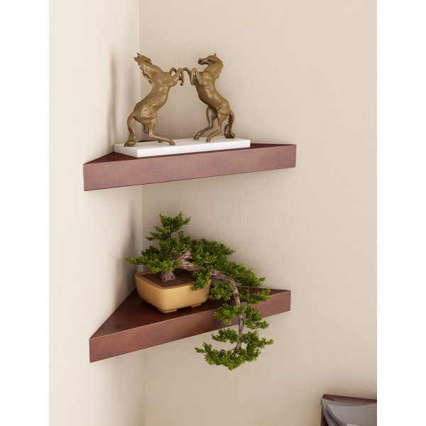 FabFull Messina set of 2 wall shelves