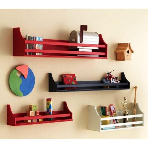 FabFull Prato set of 4 wall shelves