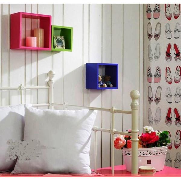 FabFull Boxo set of 3 wall shelves