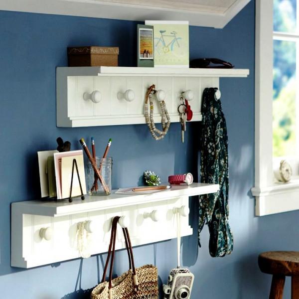 FabFull Raven set of 2 wall shelves