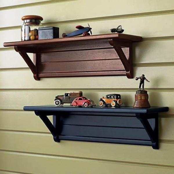FabFull Sassari set of 2 wall shelves
