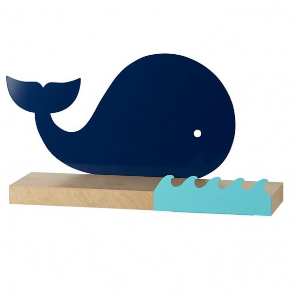 FabFull Whale Wall Shelf