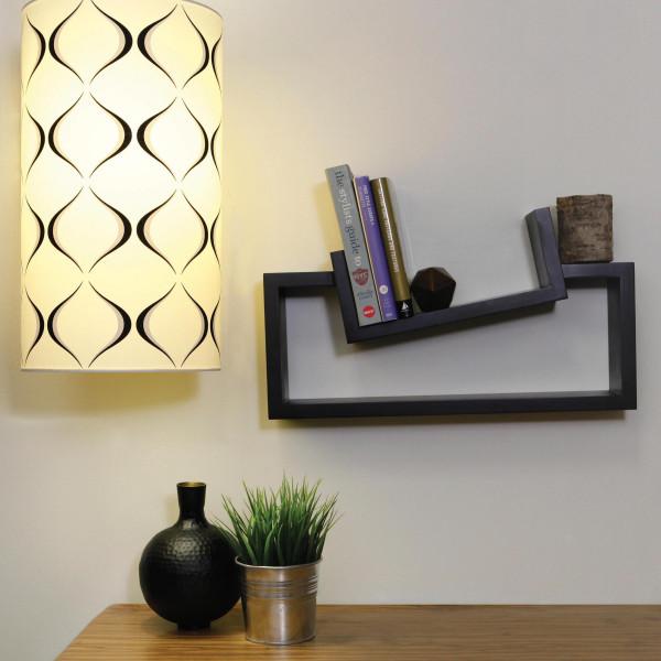 FabFull Arcata Wooden Wall Shelf