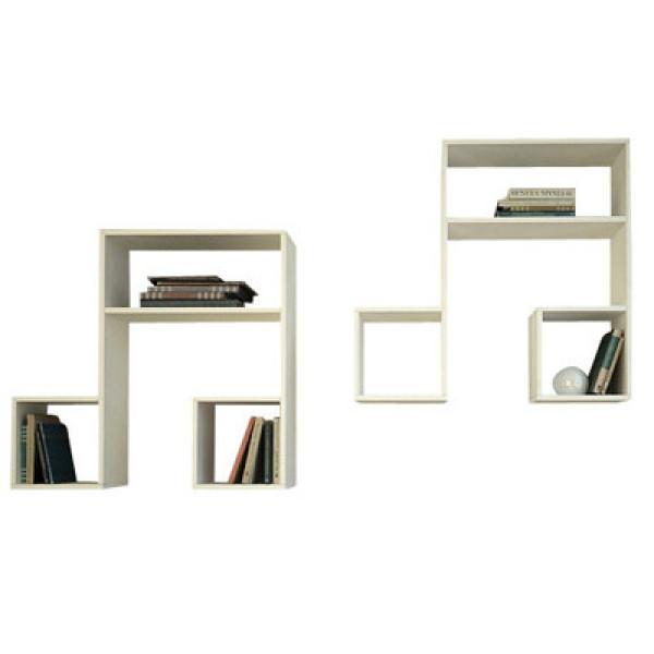 FabFull Music Wall Shelf set of 2