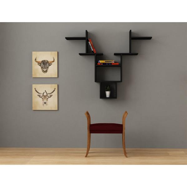 FabFull Antler Wall Shelf
