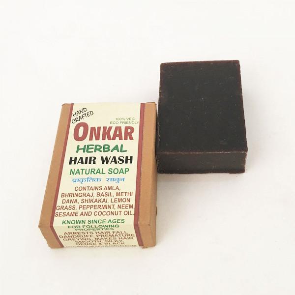 Onkar Herbal Hair Wash Natural Soap 100gms