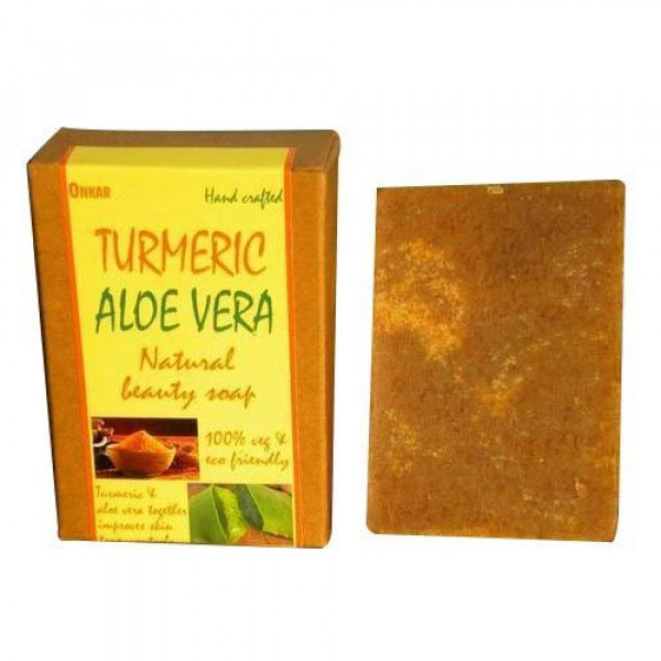 Turmeric Aloe Vera Natural Beauty Soap 100gms