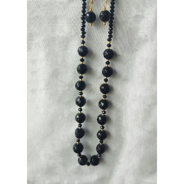 Beads and Butterfly Necklace
