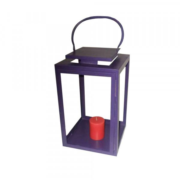 Purple Candle Lantern