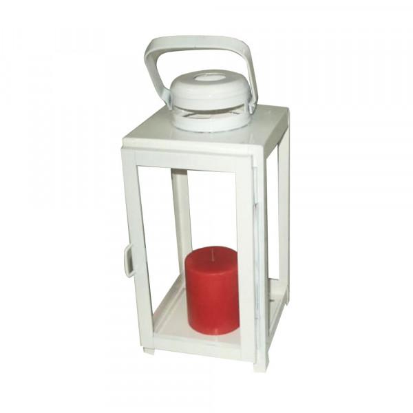 White Candle Lantern