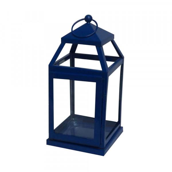 Royal Blue Candle Lantern