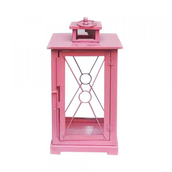 Pink Candle Lantern