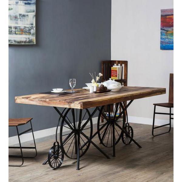 Morriyano Cycle Wheel Dining Table