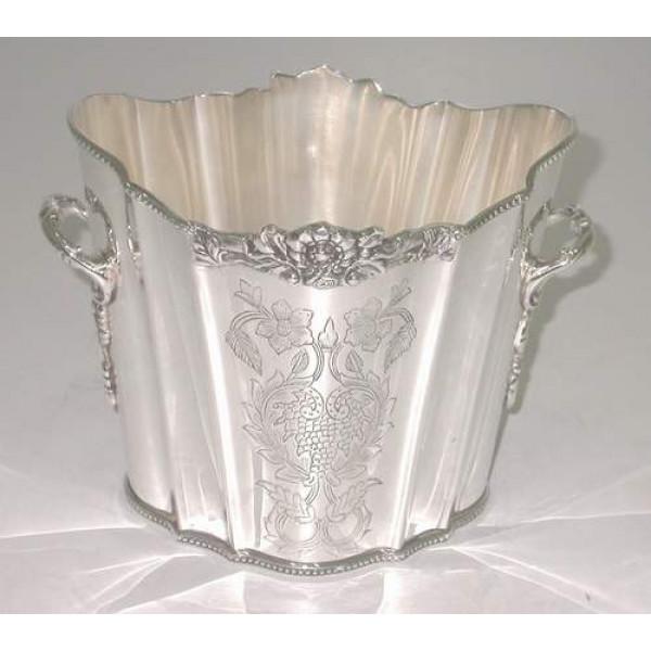 Al-Haraman Wine Cooler Silver Plated