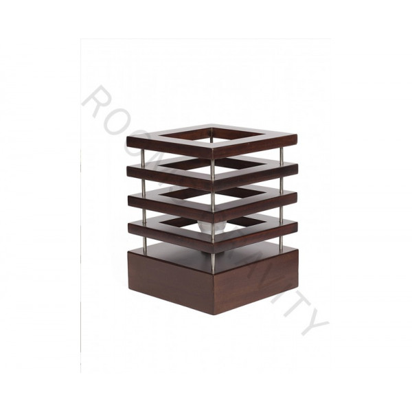 RGS Timber Wedge Table Top Lamp