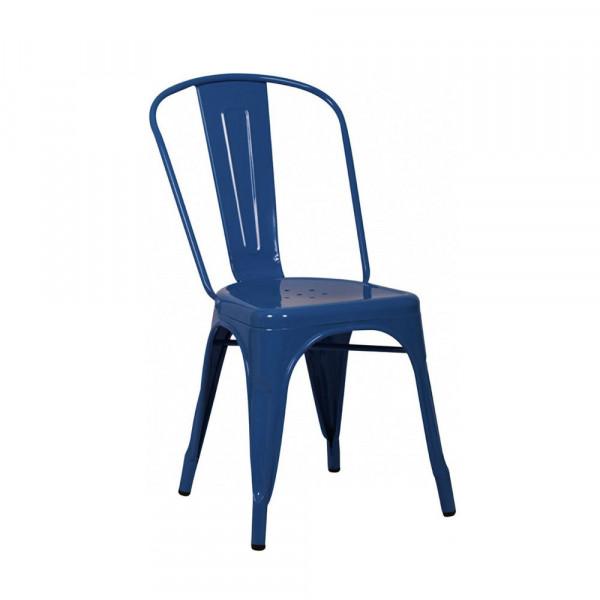 Metal Blue Chair