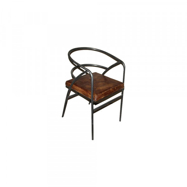 Wooden and Metal Chair