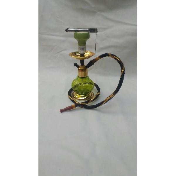 Handmade Green Hookah