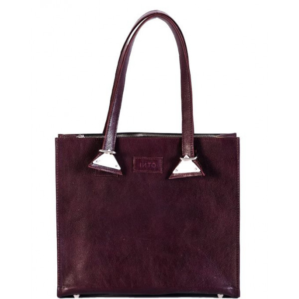 Ladies leather Bag maroon