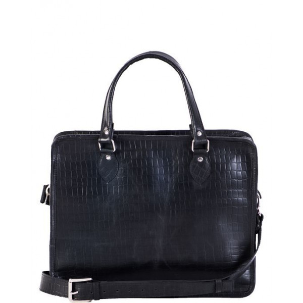Ladies leather Bag black