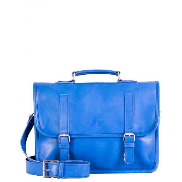 Ladies leather Bag blue