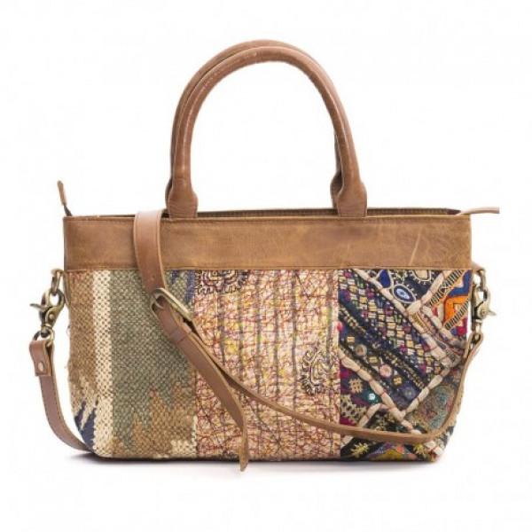Multicolor Kanta, Wool Jute andBanjara Embroidery Handbag
