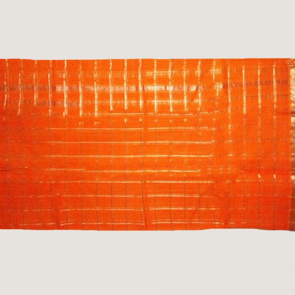 Orange check kota saree including blouse