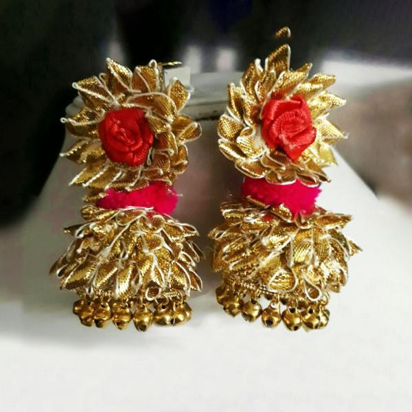 4 Pairs of Gota Ear Rings