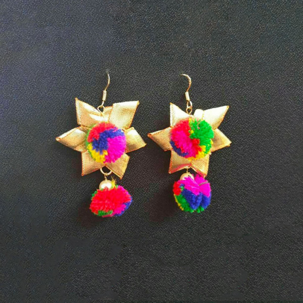 3 Pairs of Gota Ear Rings