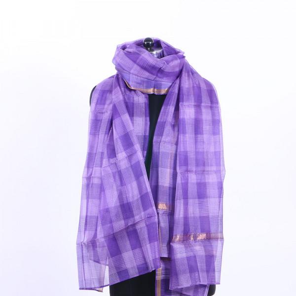 Purple Kota Dupatta