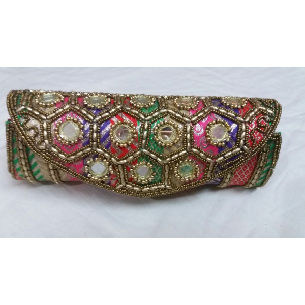 Phulkari Clutch Bag( Set of 3)