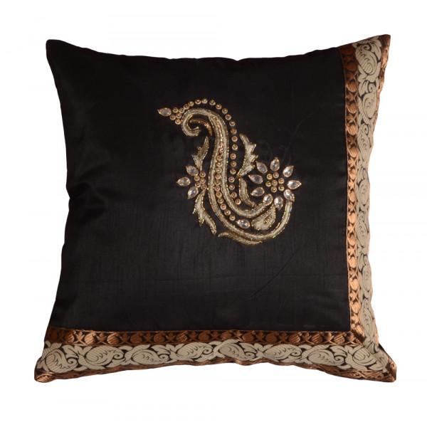 me Sleep Hand Embroidery Cushion Cover