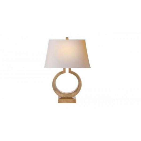 Iron Mould Table Lamp Circle
