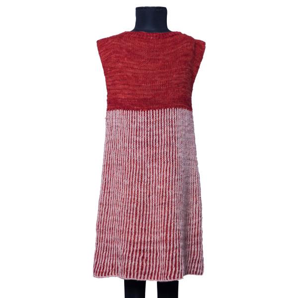 Reversible Pinstriped Dress