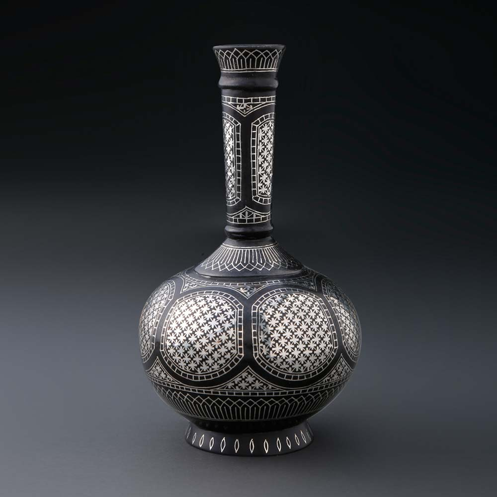 Jabeen Silver Inlay Flower pot