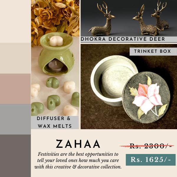 Zahaa Home Decor Collection
