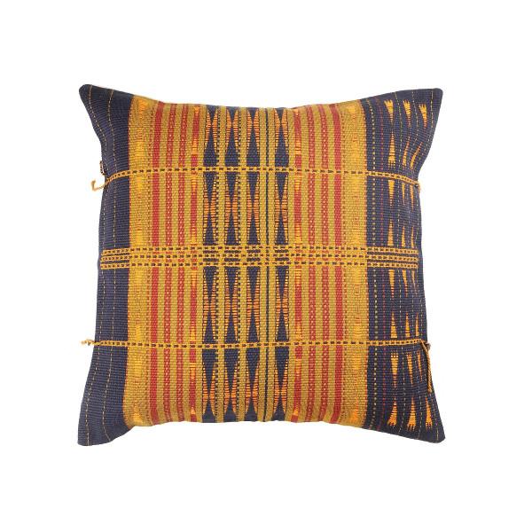 Naga Cushions cover purple and yellow  18x18