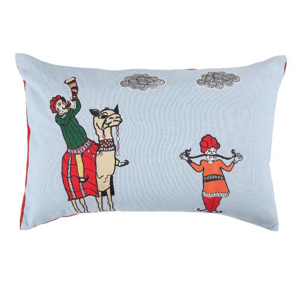 Muchad Cushion Covers blue 12 x 18