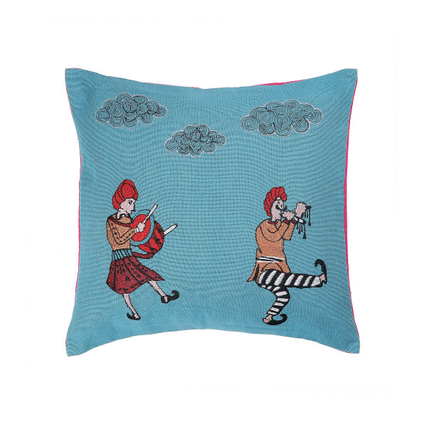 Muchad Cushion Covers Teal 12 x 12